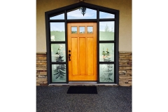 Door staining Calgary exterior Painting