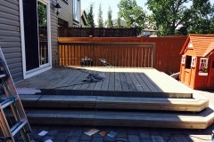Deck Painting Calgary Painters