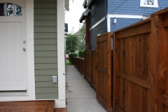 Fence staining Calgary painters